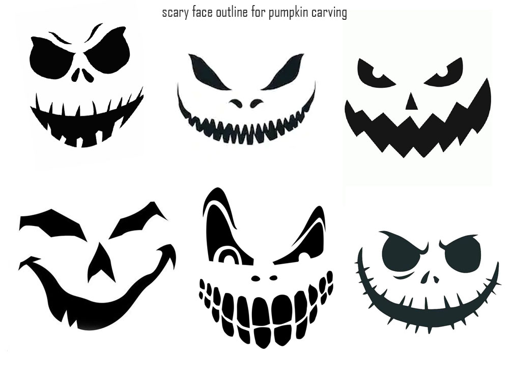 Printable Pumpkin Stencils Halloween