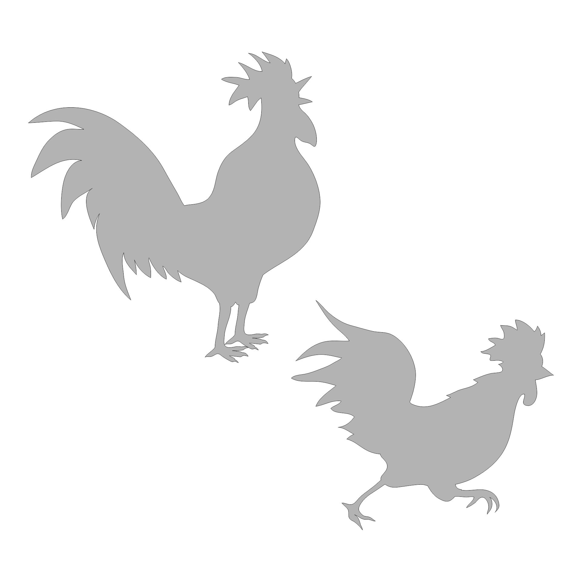 Chicken Stencils  Printable