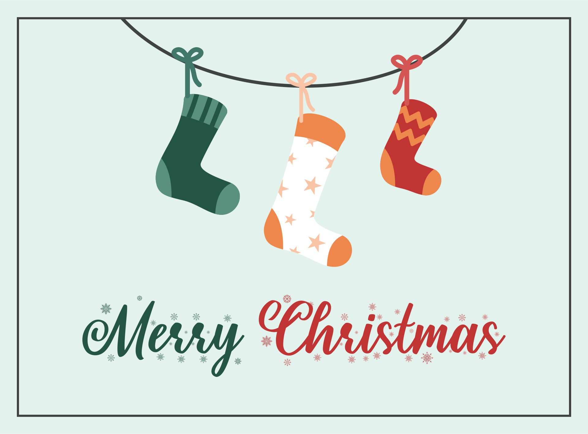 Christian Christmas Printable Cards