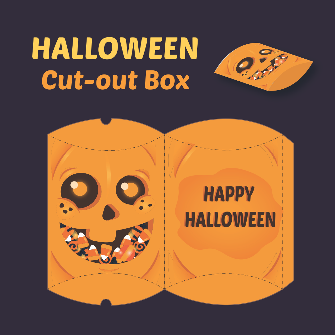 3D Paper Crafts Halloween Printable