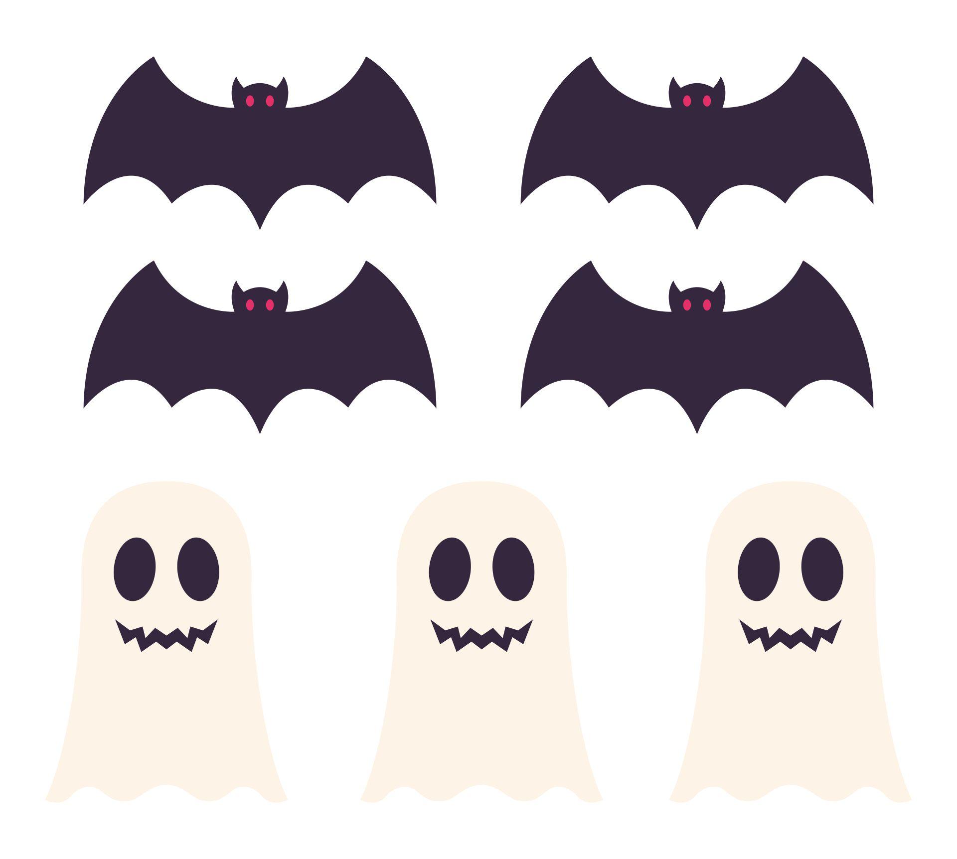 Printable Halloween Paper Decor