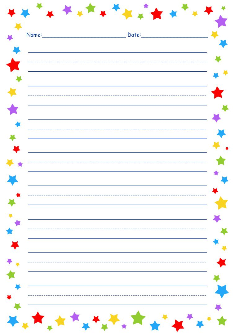 Handwriting Practice Paper Printable