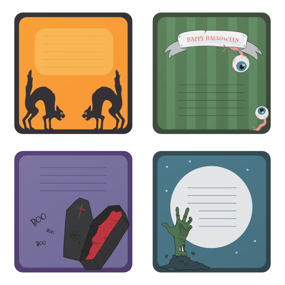 Halloween Printable Tags To From