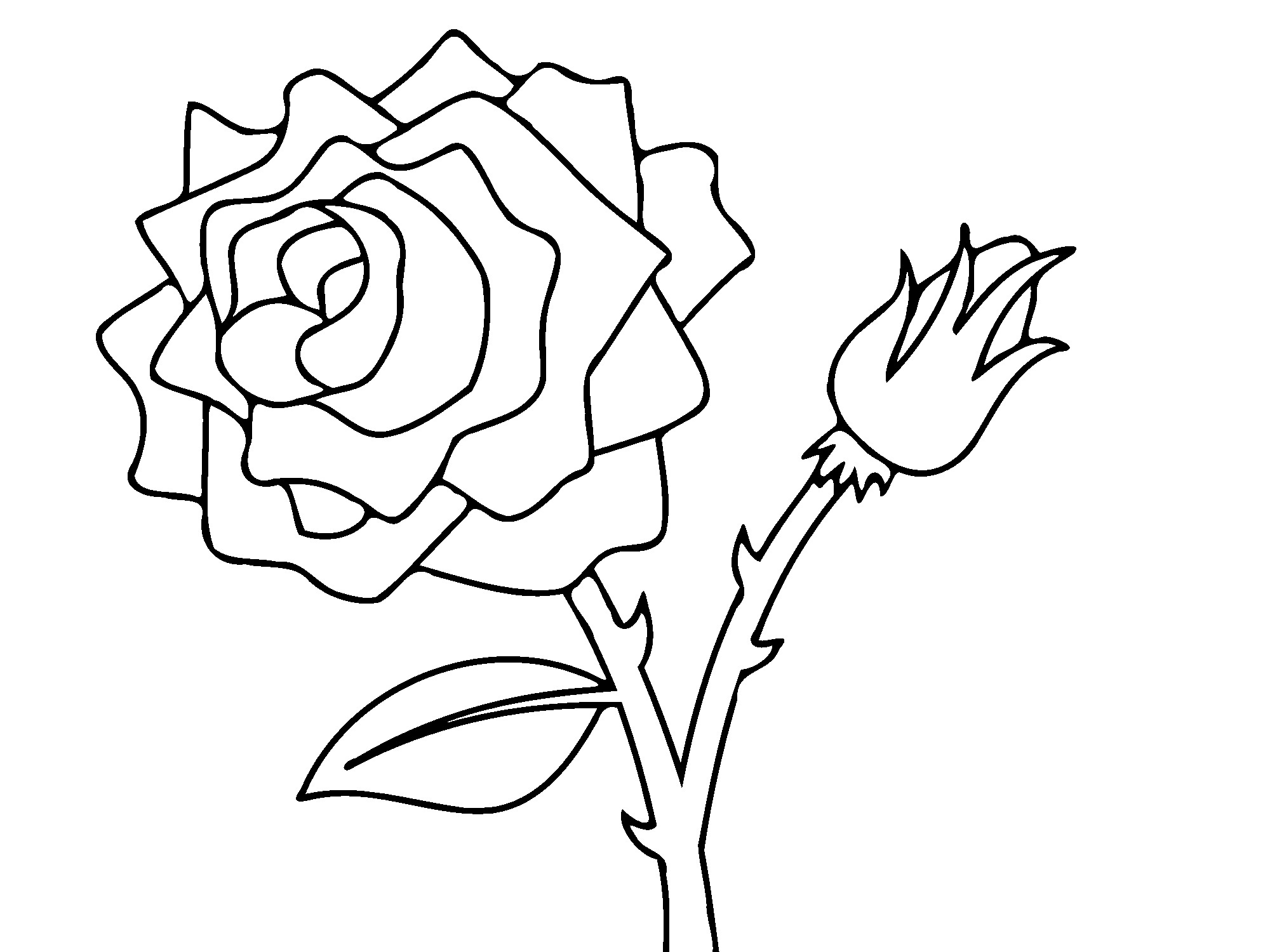 Printable Flower And Rose