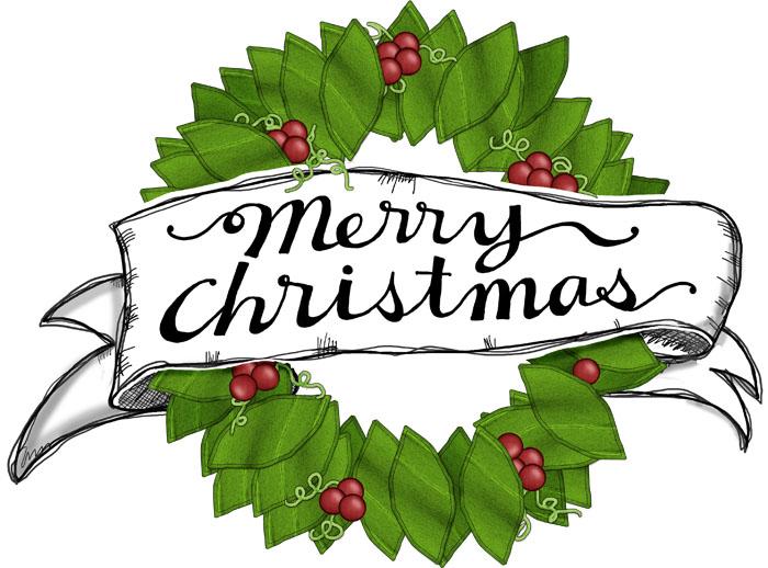 Merry Christmas  Printable Signs