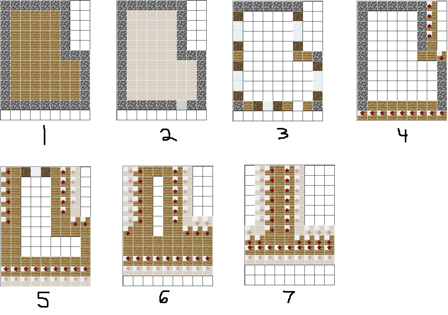 Printable Minecraft Villager Houses