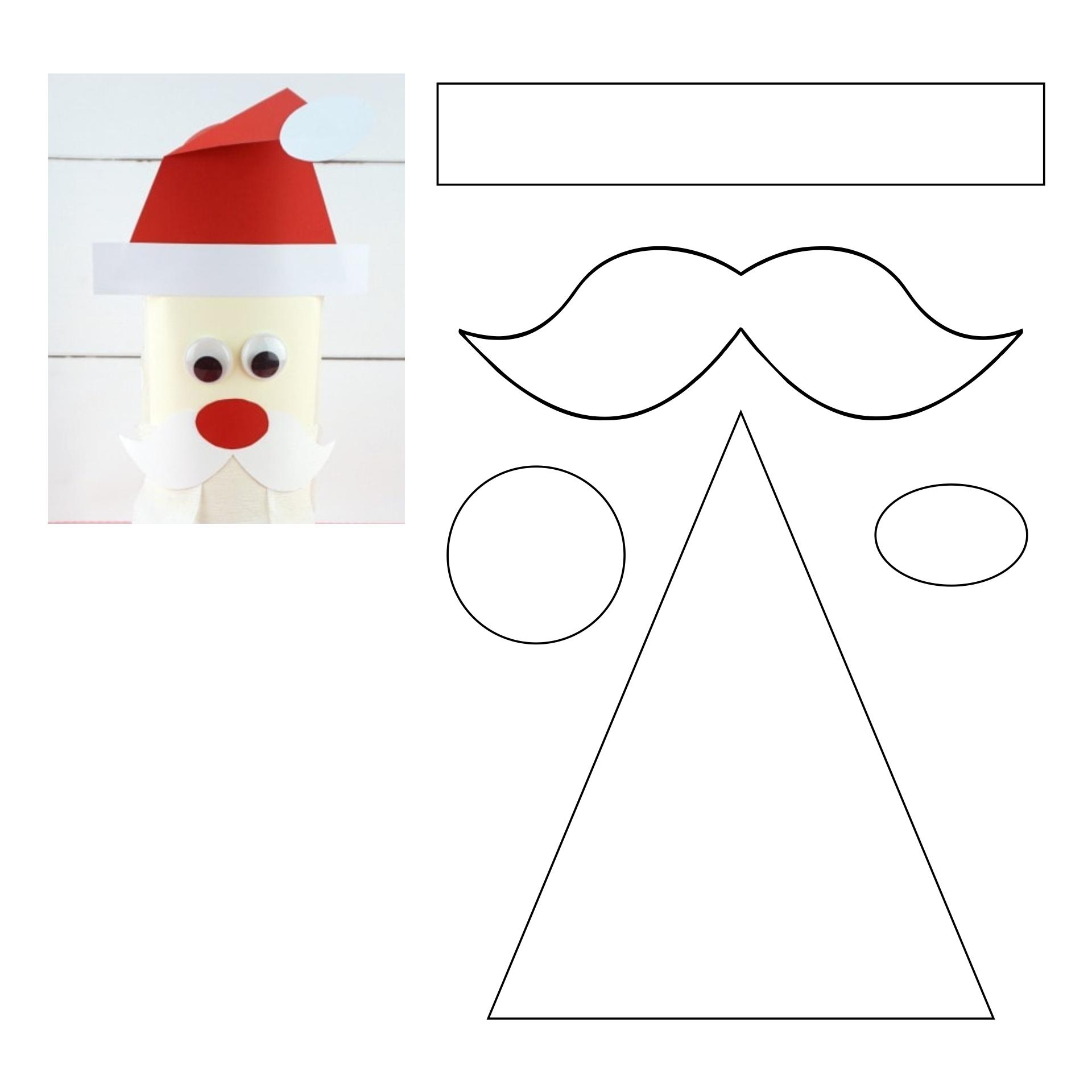 Printables Santa Christmas Craft
