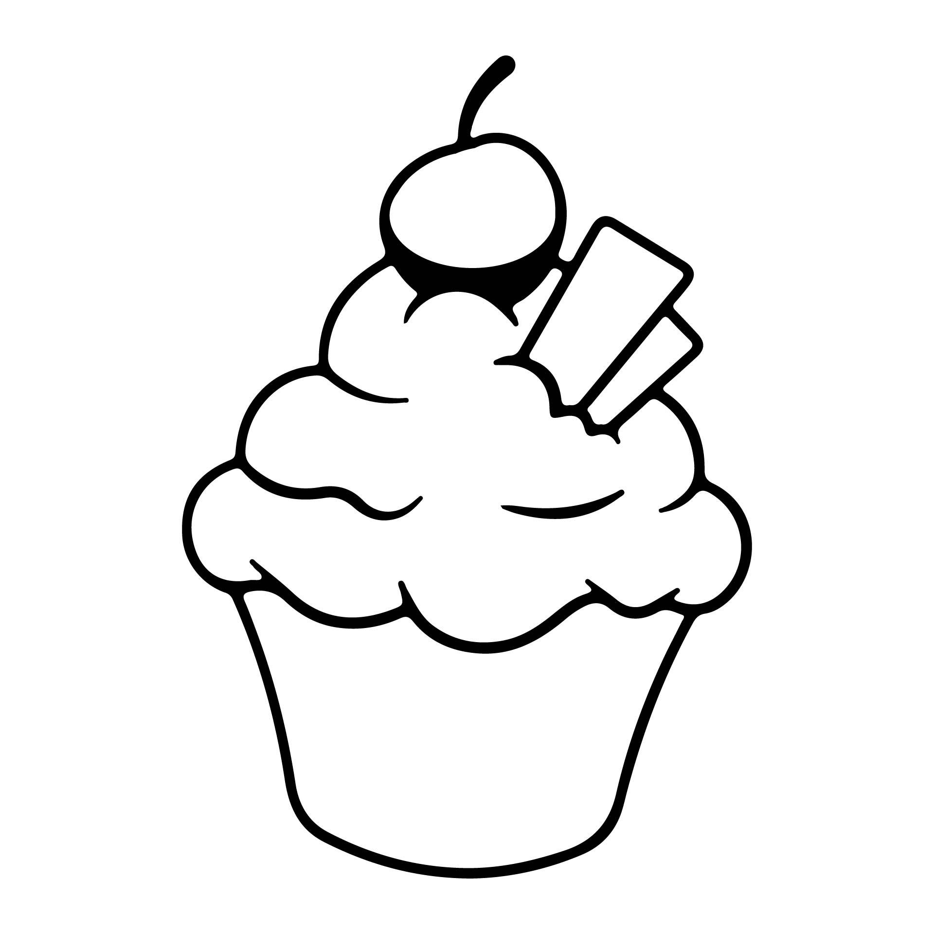 Cupcake Cutouts Printables