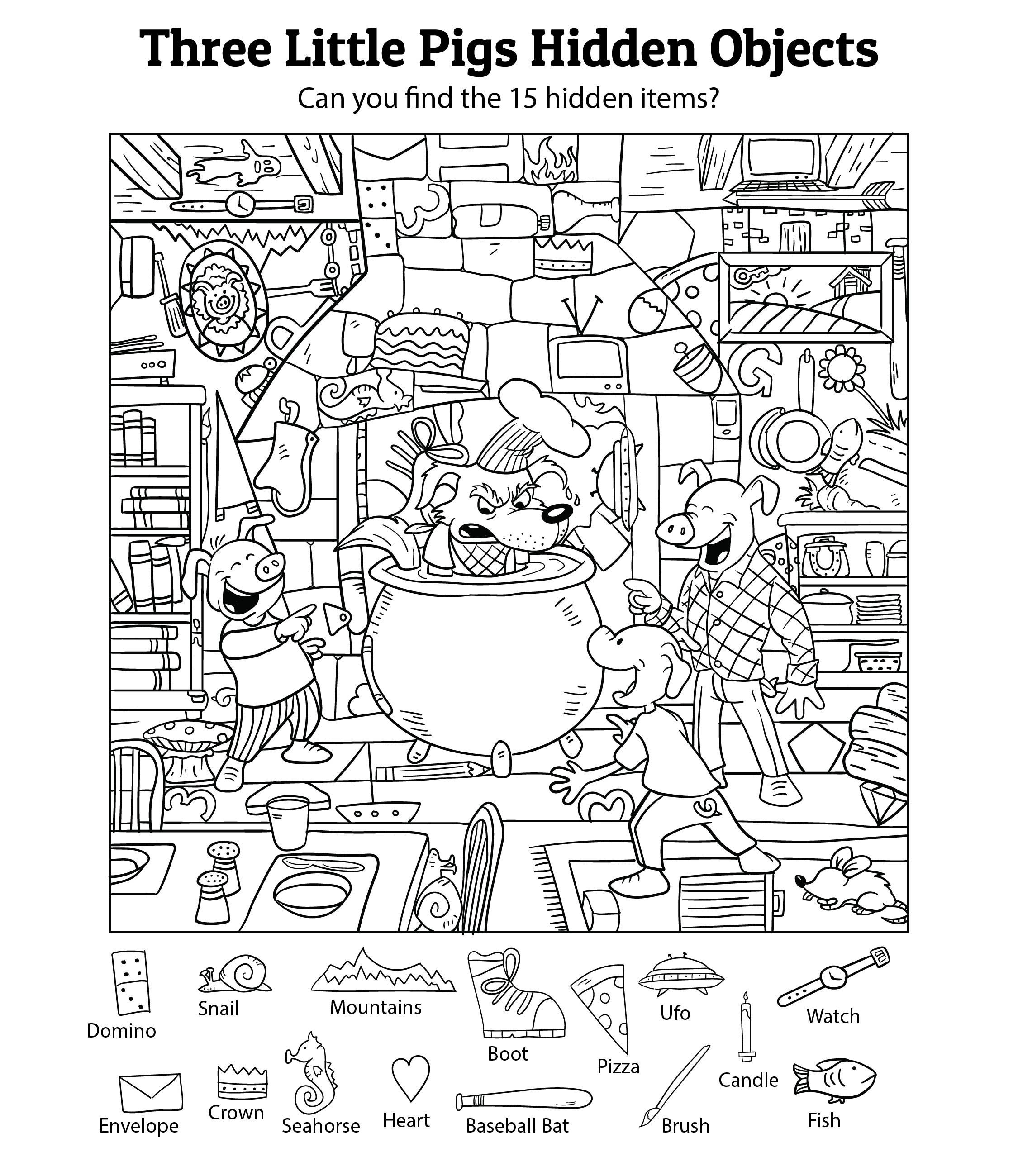 Hidden Object Printables