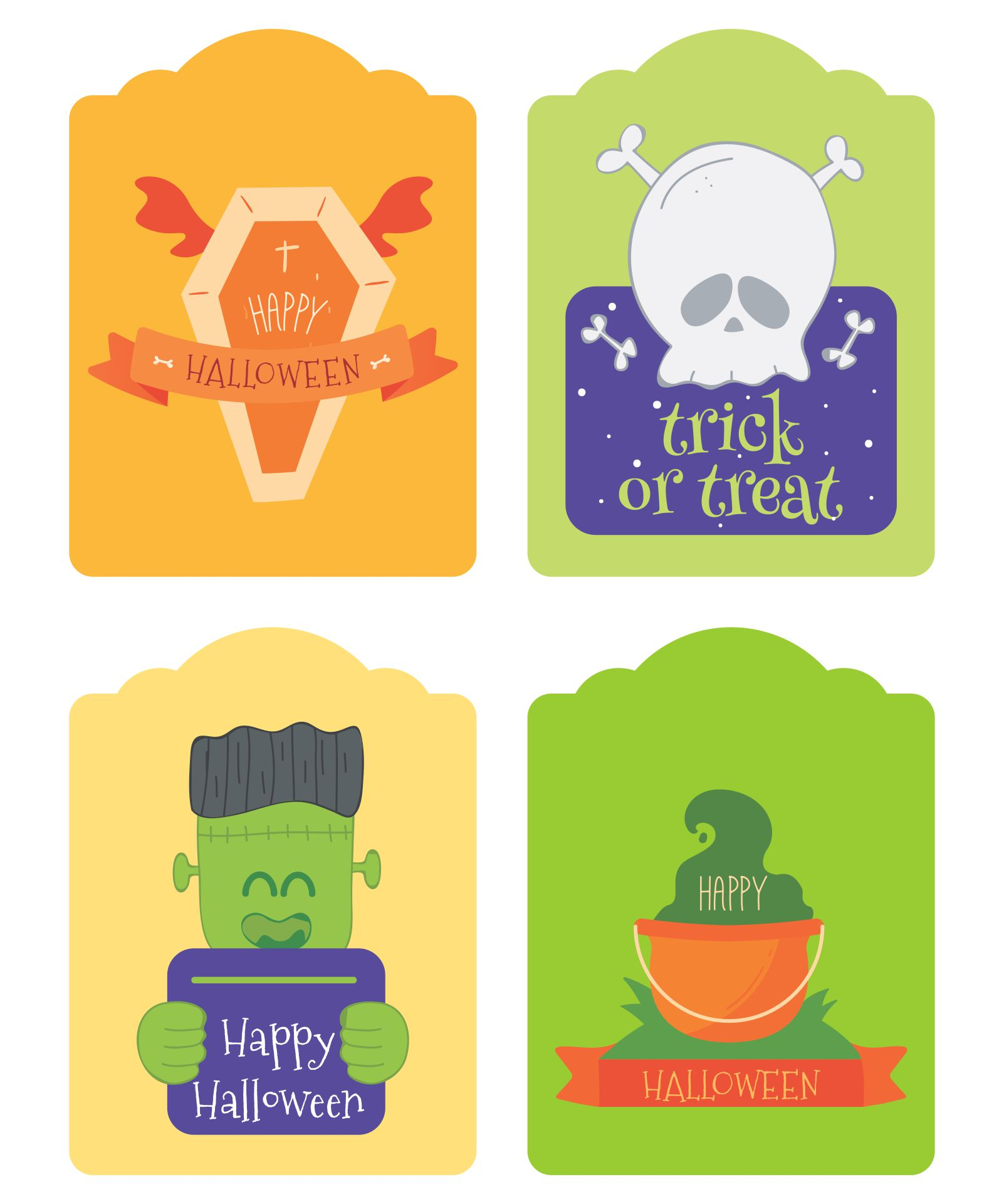 Printable Halloween Jar Labels