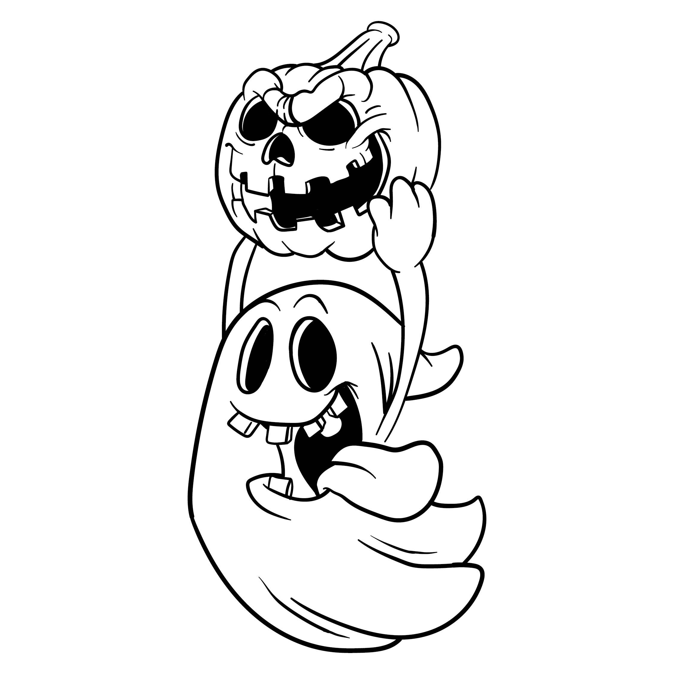 Halloween Ghost Stencils Printable