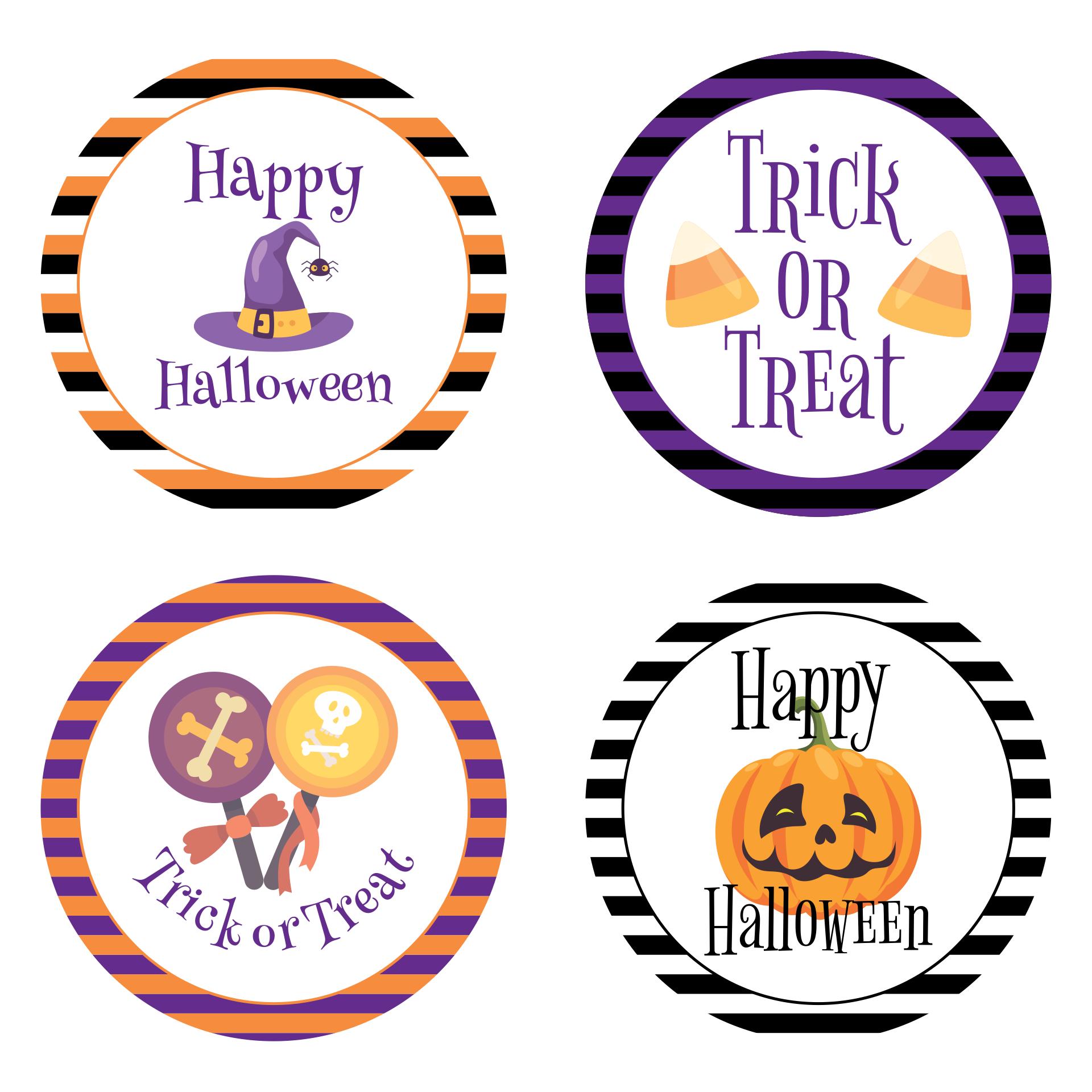 Halloween Printable Labels Mason Jar