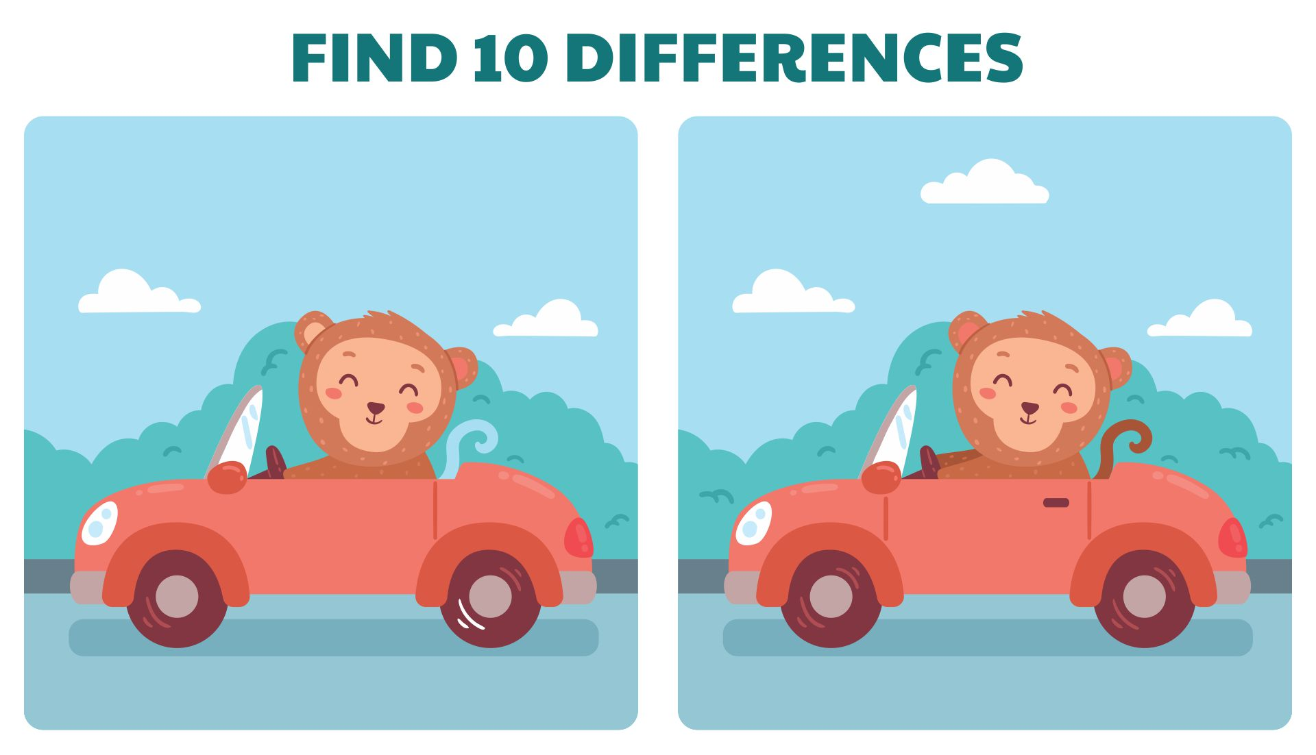 Printable Adult Find The Difference