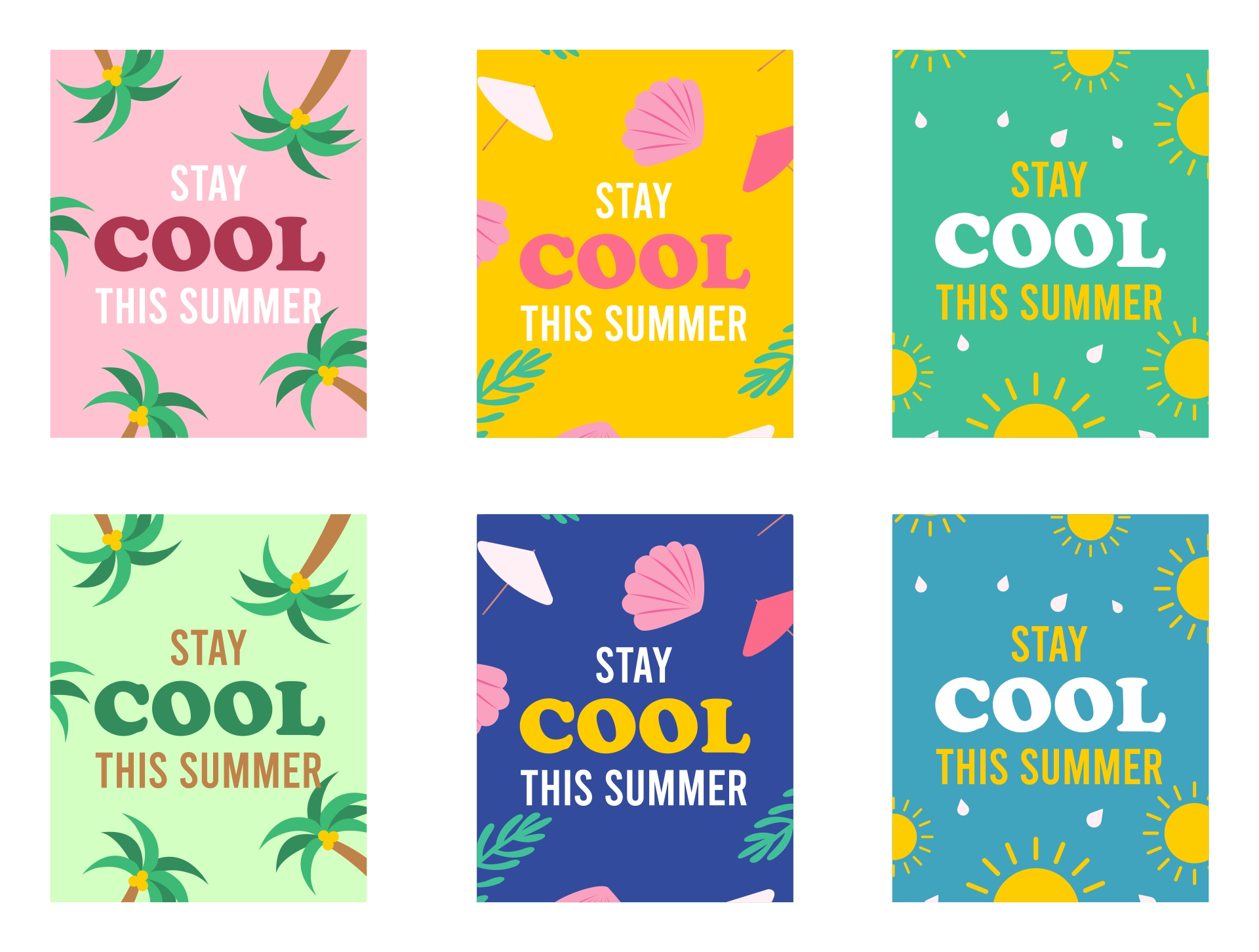 Stay- Cool Summer Printable