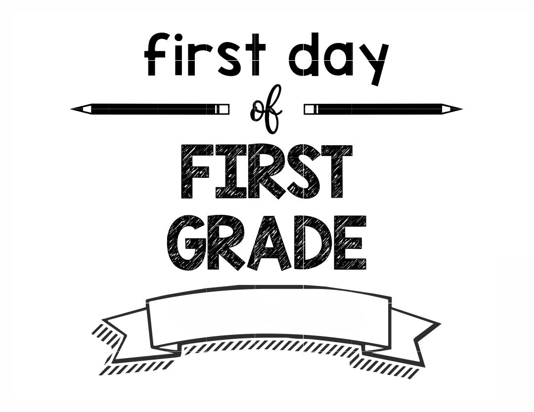 Sign Printable First Day Of 6th Grade