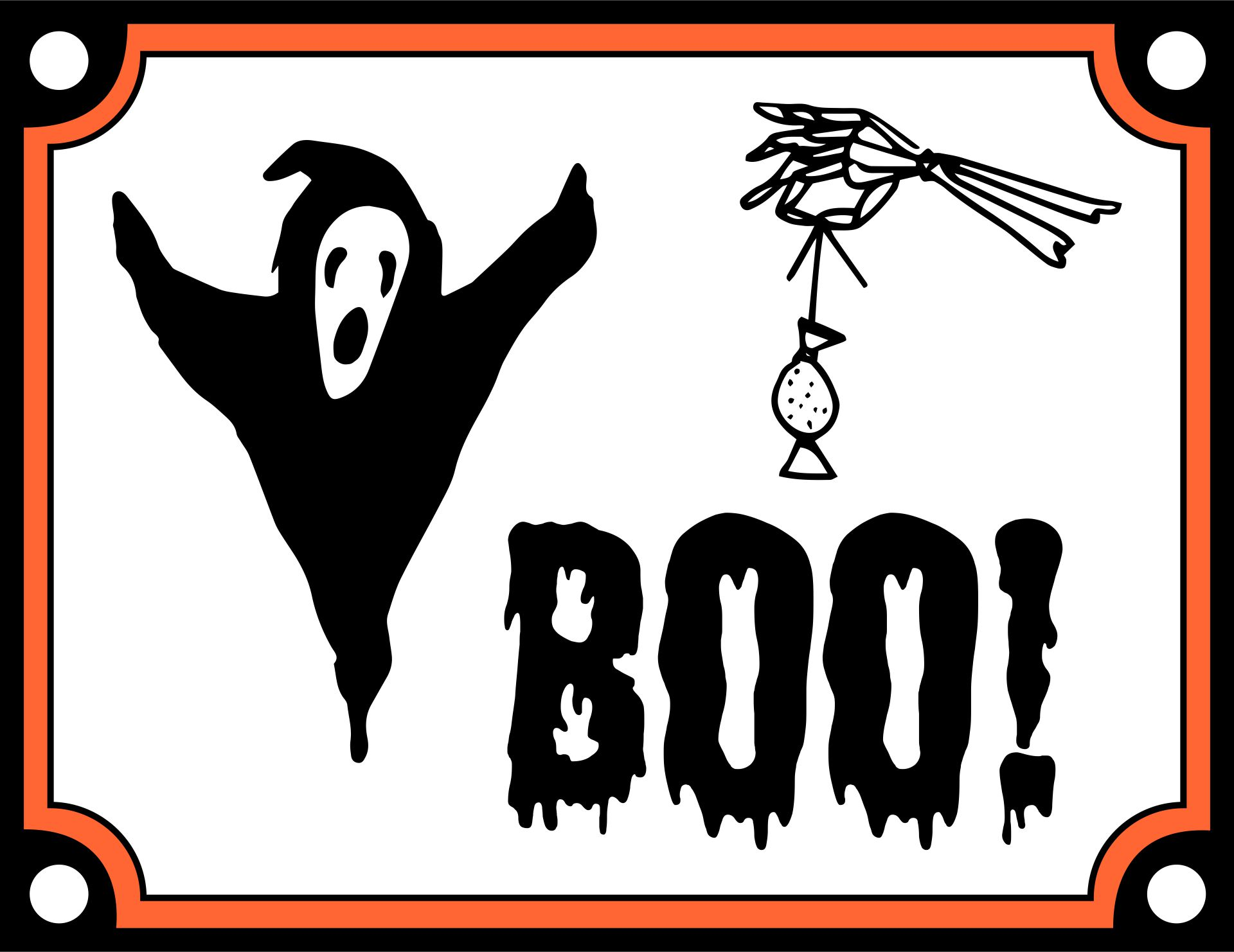 Happy Halloween Printable Signs
