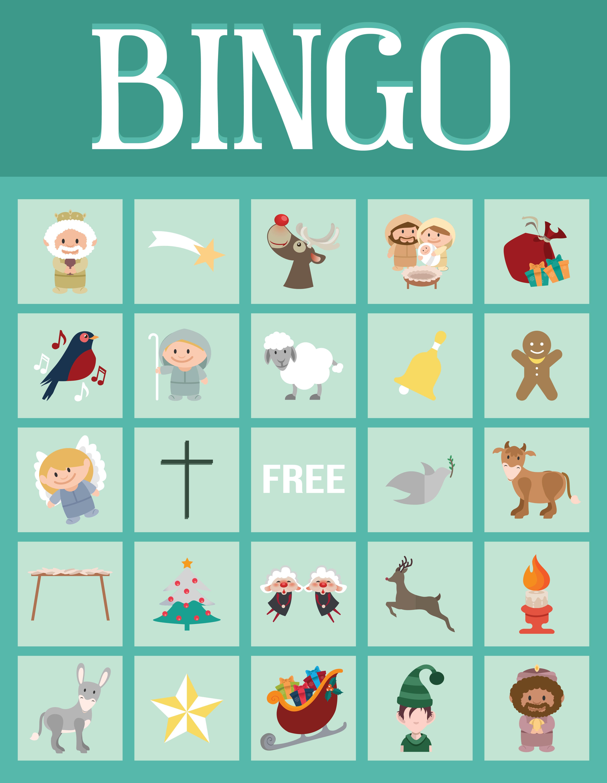 Christmas Bible Bingo Printable