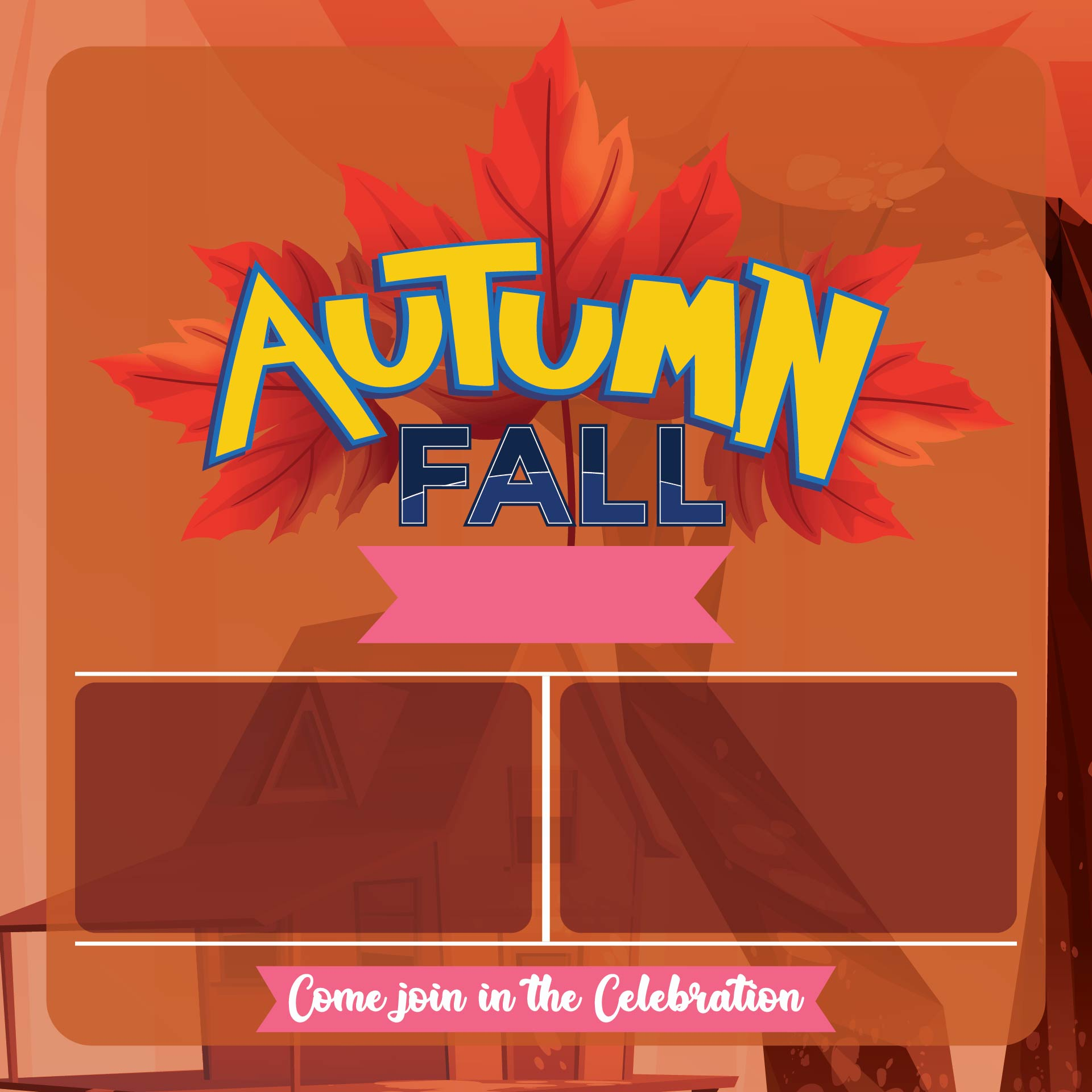 8 best free printable fall flyer templates