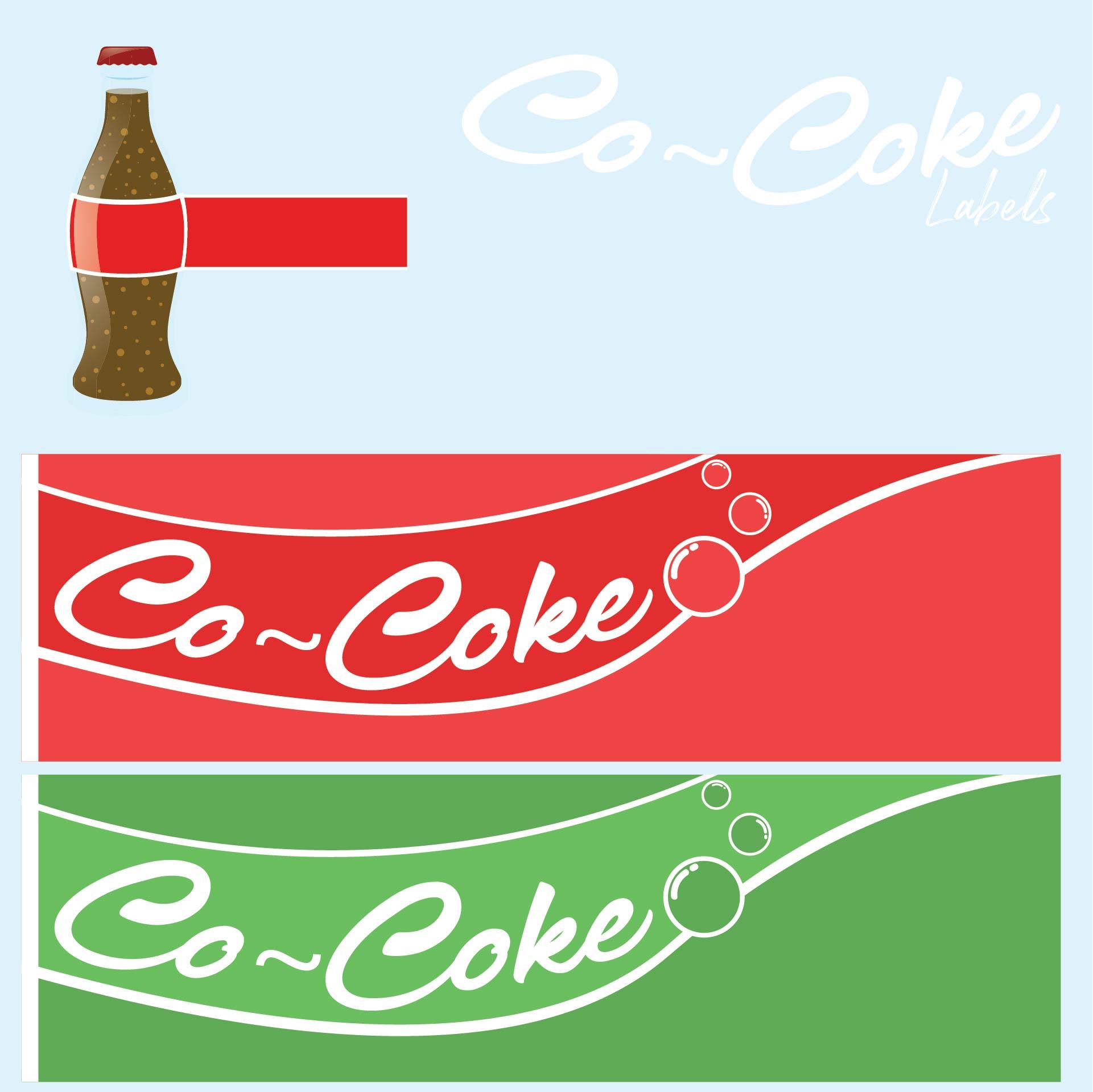 Soda Machine Labels Printable