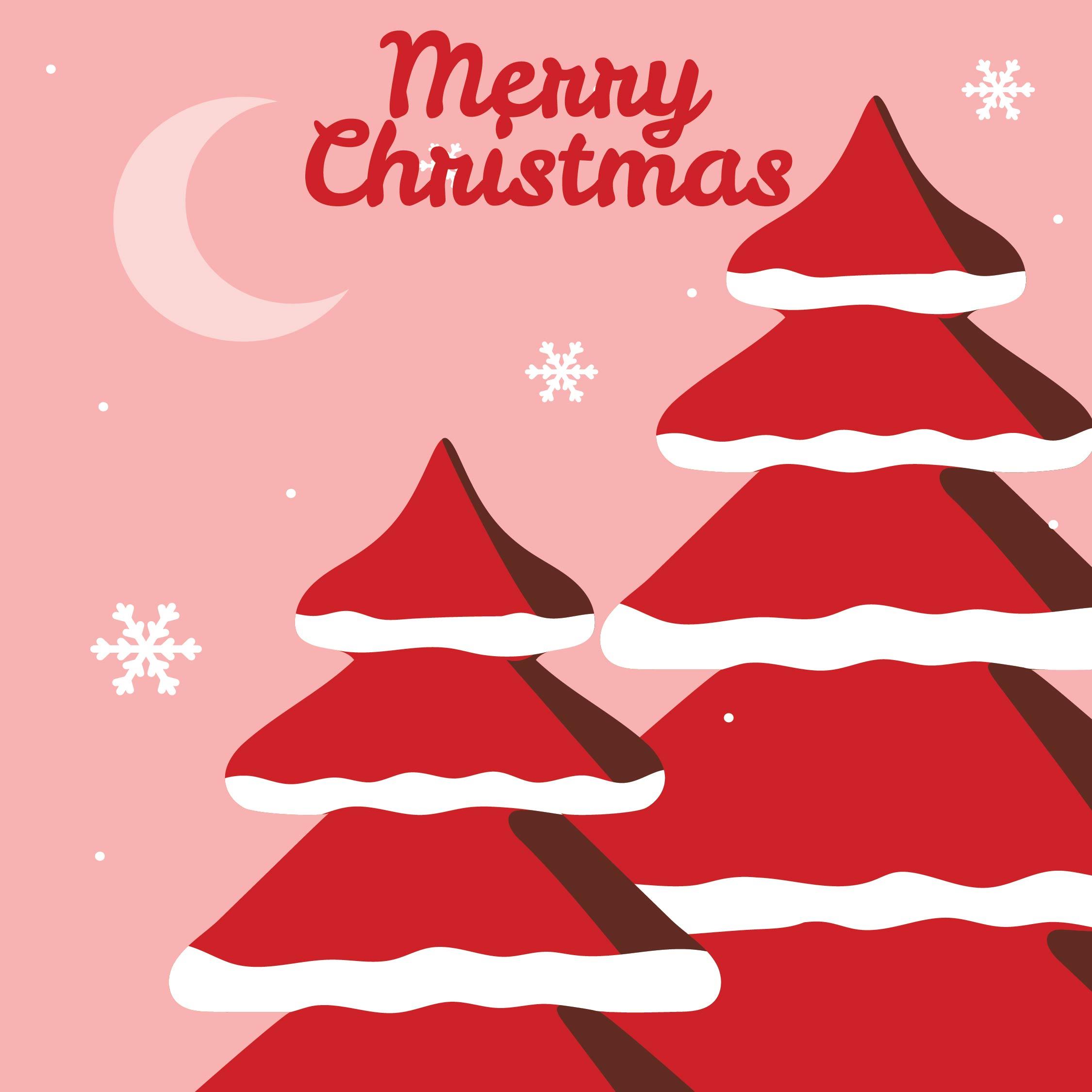 Printable Snowflake Christmas Card