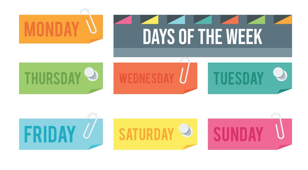 Teaching The Days Of Week Preschool Printables