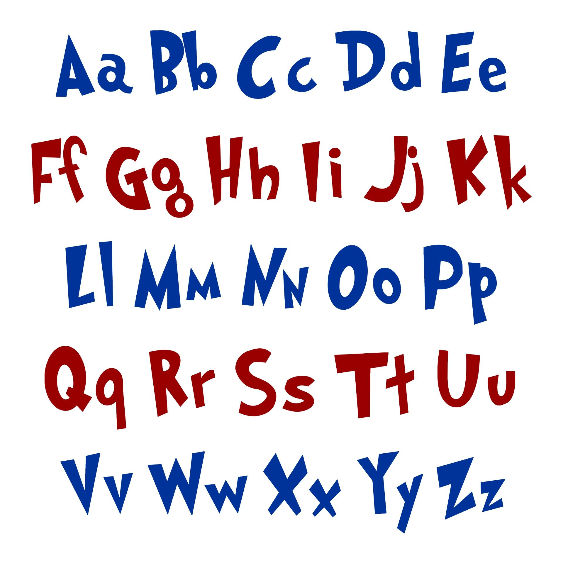 Dr. Seuss Alphabet Printables