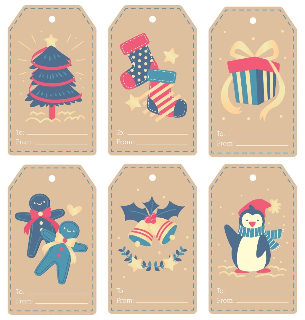 Printable Christmas Gift Tags For Jars