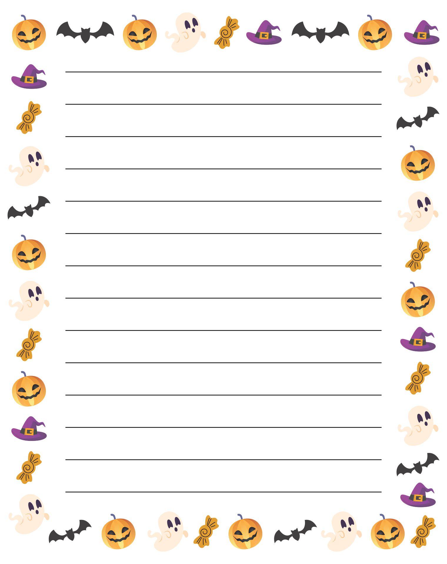 Printable Halloween Paper