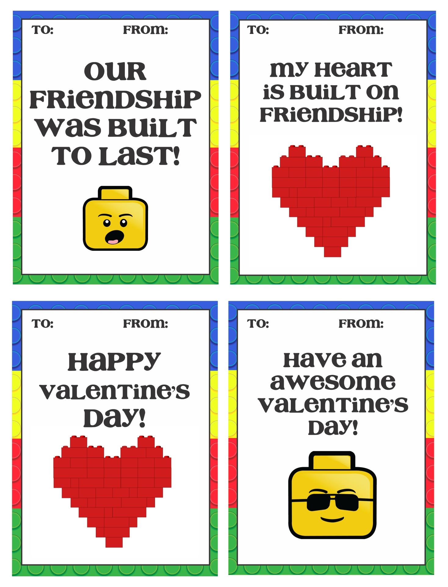 Printable Valentine Cards For Boys