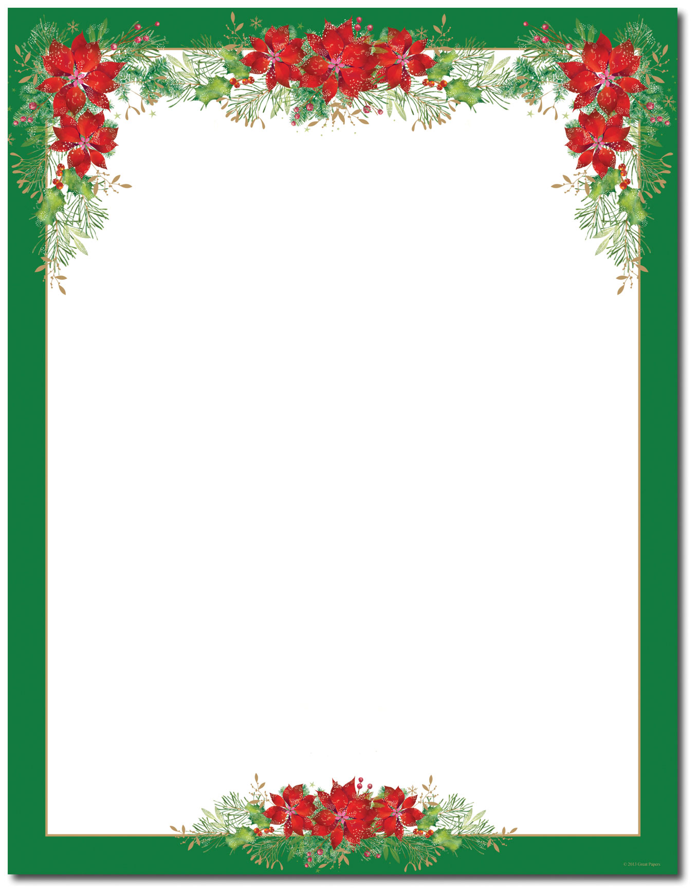 Printable Christian Christmas Borders