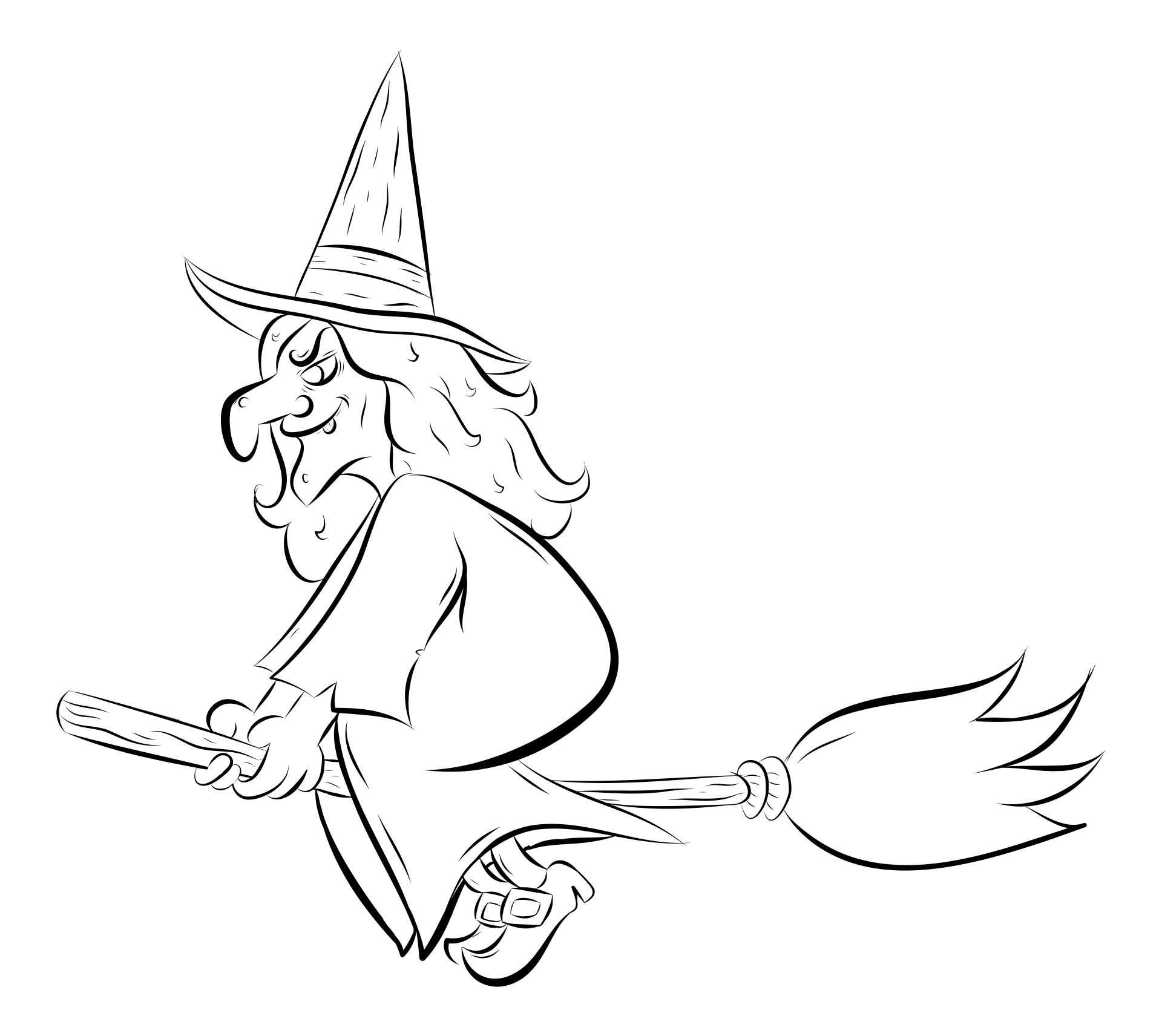 Witch Halloween Printables