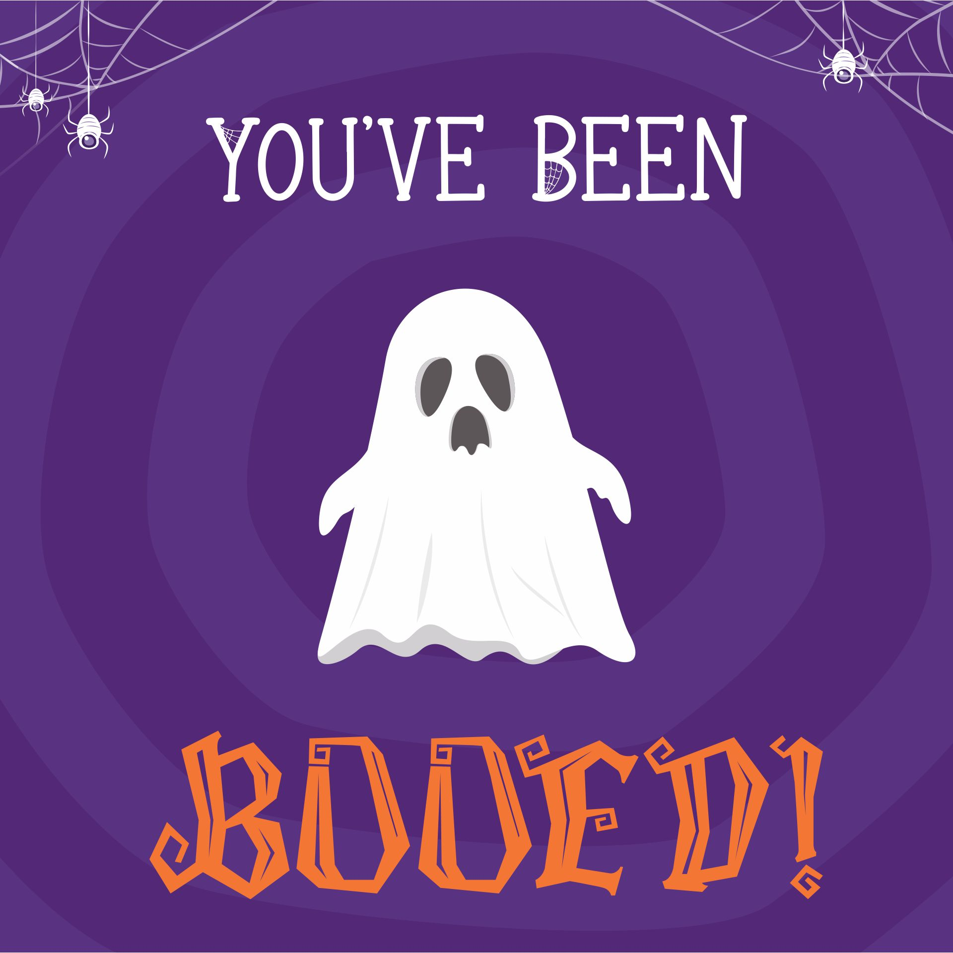 Halloween Booing Printables