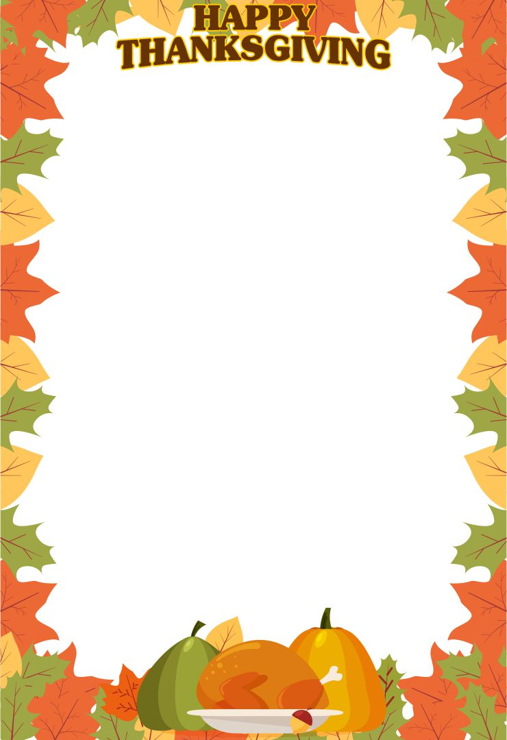 Printable Thanksgiving Clip Art