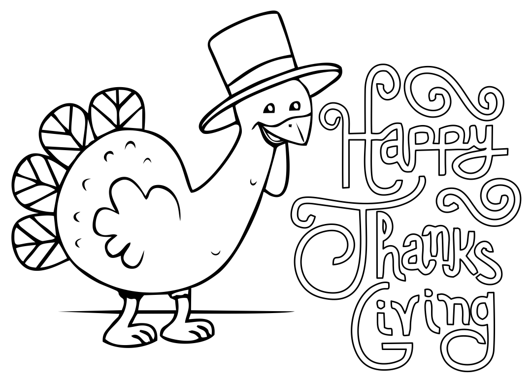Thanksgiving Turkey Printable