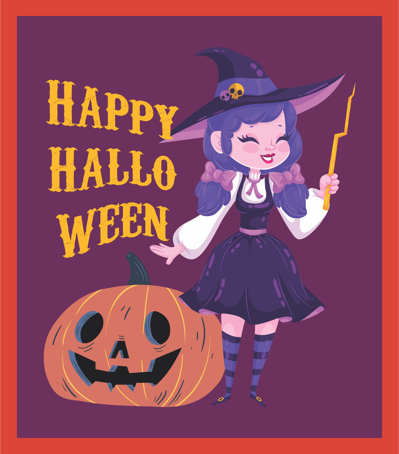 Vintage Halloween Printable Signs